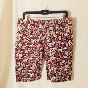 LIJA Golf Bermuda Shorts Multi Color Size 8